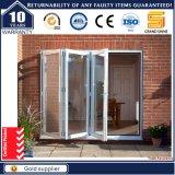 Heat Insulation Interior Accordion Folding Door with Flyscreen