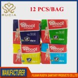Babies Age Group and Soft Breathable Absorption PE Diaper