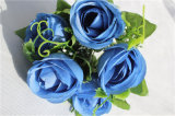 High Quality Wholesale Artificial Blue Rose Flower