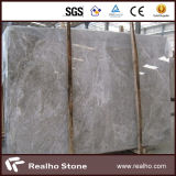 Hot Selling Turkey Tundra Grey Marble Slabs for Flooring Tile/Wall Tiles