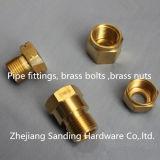 Brass Bolt and Brass Nuts