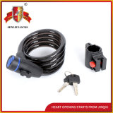 Combination Motorcycle&Bicycle Spiral Cable Lock