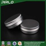 60g, 2oz Silver Aluminum Cosmetic Jars Tin Cream Jars Aluminum Jars for Sale