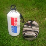 Custom Insulated Neoprene Sport Water Bottle Cooler Bag with Clip (BC0019)