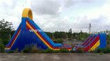 20ml Inflatable Zipline Slide Customized, Inflatable Big Slide