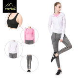 Women′s Fast-Drying Four-Piece Set of Light Fitness Sports Suit