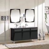 Modern Solid Wood Bathroom Cabinet