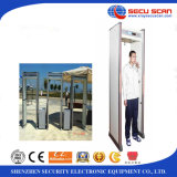 6 zones Walk Through Metal Detector AT-300B metal detector gate
