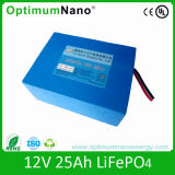 LiFePO4 Battery Pack 12V 25ah for E-Bike and UPS (4S5P)