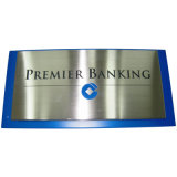 Interior Office Wall Mounted Metal Plaques