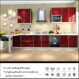 2015 New Design High Glossy Kitchen Cabinet (FY254)
