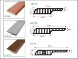 Ck MDF Design Water-Proof PVC Skirting of Glue /Nail Installnation