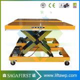 2ton High Quality Static Scissor Lift Platform for Lifting Cargo