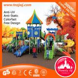 Castle Bright Kindergarten Slide Outdoor Playground for Sale