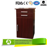 Wooden Storagre Hospital Bedside Cabinet Optional with Casters