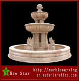 Cheap Marble Stone Carving Fountain for Decoration (NS-204)