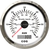 Popular 85mm GPS Speedometer 60 Knots with Compass for Boat Yacht