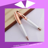 Rose Golden Plating Pen in Set (Gel pen and Ball pen) Kp-035