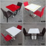 Composite Resin Solid Surface Food Court Table