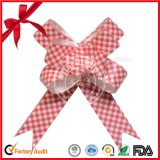 Promotional Christmas Gift Packaging Pull String Ribbon Bow