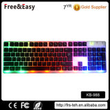 Colorful High Key USB Wired Keyboard for PC