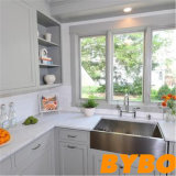 Modern High Glossy White Lacquer Kitchen Furniture (BY-L-160)