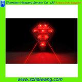 8 LED Bike Real Light Laser Tail Light Ce&RoHS