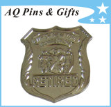 Metal Police Badge for Retired Officer Badge (badge-127)