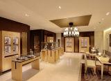Fashionable Wooden Watch Display Showcase Watch Shop Decoration
