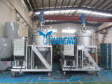High Efficiency Waste Tire Pyrolysis Oil Recycling Machine