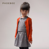 100% Cotton Knitting Sweater for Girls