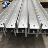 Hot Dipped Galvanized Structural H Column for Retaining Wall Post