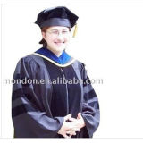 Hot Sell Us Doctoral Academic Gowns Black