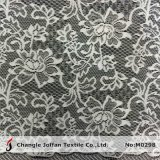 Jacquard Flower Curtain Lace Fabric (M0298)