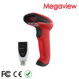 200meters Bluetoothwireless Barcode Scanner with 5000PCS Bar Code Info Recording for Store and Warehouse (MG-BS2535R)