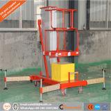 10m High Quality Aluminium Single Mast Man Lift One Person