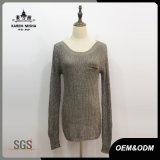 Women Fashion Dummy Pocket Rib Sweater
