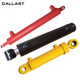Double Acting Stainless Steel Hydraulic Cylinder Used in Agriculture Cotton Harvester