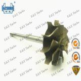 KT10-1B HT10 Turbine Wheel Shaft Wheel for Turbocharger 0K058-13700C