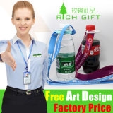 Europe Silk Screen Printing Custom Strap Lanyard for Bottle Holder