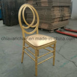 Gold Ice Clear Wedding Event Sillas Infinity Phoenix Chairs