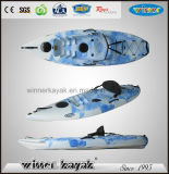 Hot Selling Plastic Single Sit on China Kayak