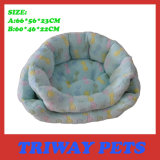 High Quaulity and Comfort Coral Velvet Dog Beds (WY161044A/B)