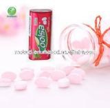 Coolsa Fruit Flavor Elliptical Shape Mint Compressed Candy