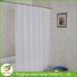 Custom Simple Style Contemporary Polyester White Shower Curtain
