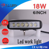 18W 6inch LED Work Light Headlight Spotlight