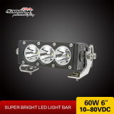 New Design LED Light Bar with White Amber Reflectors