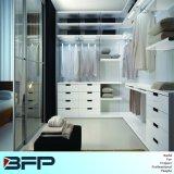 White Walk in Wardrobe Cabinet with Drawer