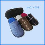 Suede Popular Men Coral Velvet Indoor Soft Slipper Shoes