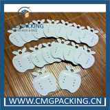 New Design Apple Shape Earring Display Card with Logo Printed